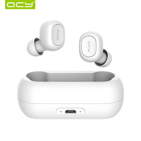 QCY QS1 T1C TWS Earbuds HIFI Cuffie Bluetooth V5.0 senza fili con cuffie Box di ricarica Touch 3D Stereo Bass WirelessTwins Headset