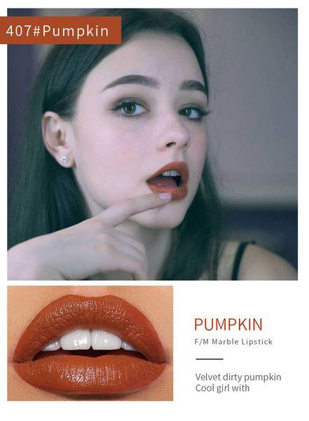 Lápiz labial mate 9 colores Lápiz labial impermeable de larga duración Sexy rojo marrón Pigmentos Maquillaje Belleza Labios