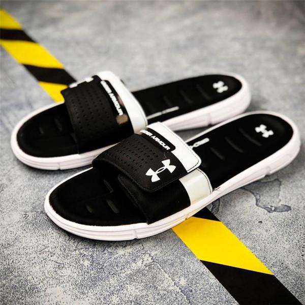Горячие мужчины летние спортивные тапочки новое поступление многоцветная мода лето пляжные горки оптом сандалии размер 40-45
