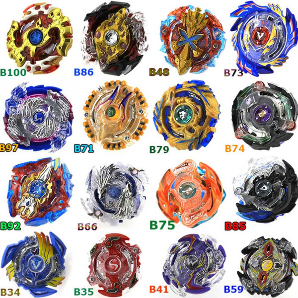 top popular New Beyblade Burst Toys Arena Beyblades Toupie 2019 Bayblade Metal Fusion Avec without Launcher Single God Spinning Top BeyBlade Blades Toy 2019