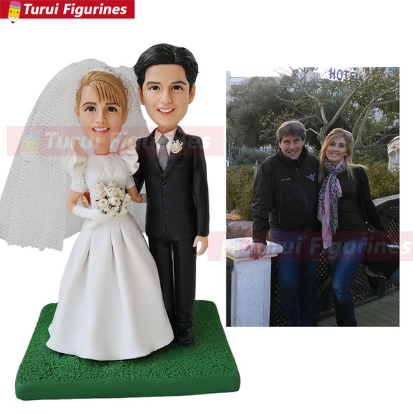 wedding cake topper name and date make a Custom bobblehead custom sports bobblehead wedding yankee