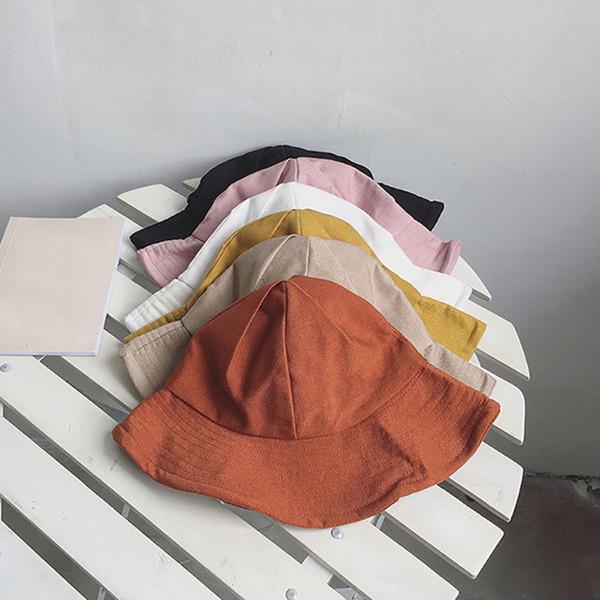Moda Bucket Hat para as Mulheres Homens 2019 Cap Streetwear New For Ladies bonito Fishman Chapéus Harajuku Bucket Chapéus