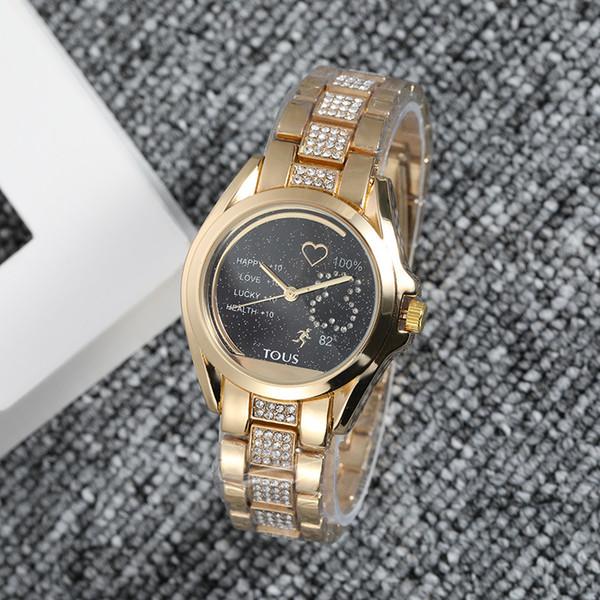 TUOSLuxury mens designer watches automatic New brand men diamond watch gold wristwatch day date leather Bracelet Clasp clock