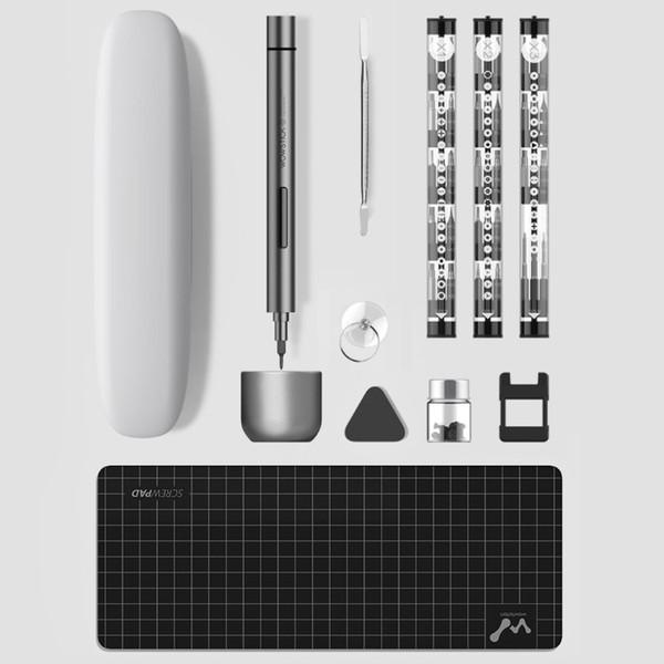 best selling Wowstick 1F Plus Mini Handheld Cordless Electric Screwdriver Precision Magnetic Screw Driver Tool Universal Multi Bits Set 3007987