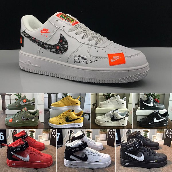 One 1 Dunk Mens Casual Shoes Chaussures Skateboarding Black White Orange Wheat Women Men High Low Designer Trainer Platform Sneaker HD-5D4L