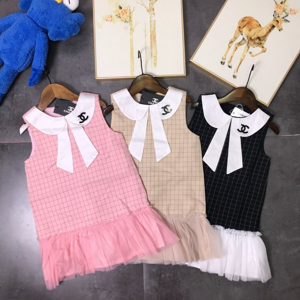 Girls dress classic style plaid pattern 100% cotton fabric, delicate fabric, comfortable upper body, soft and breathable