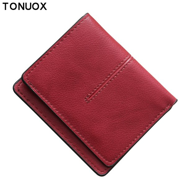 Clutch Women Wallets Lady Purses Short PU Leather Purse Cards ID Holder Envelope Money Bags Female Pocket Wallet Bag Notecase