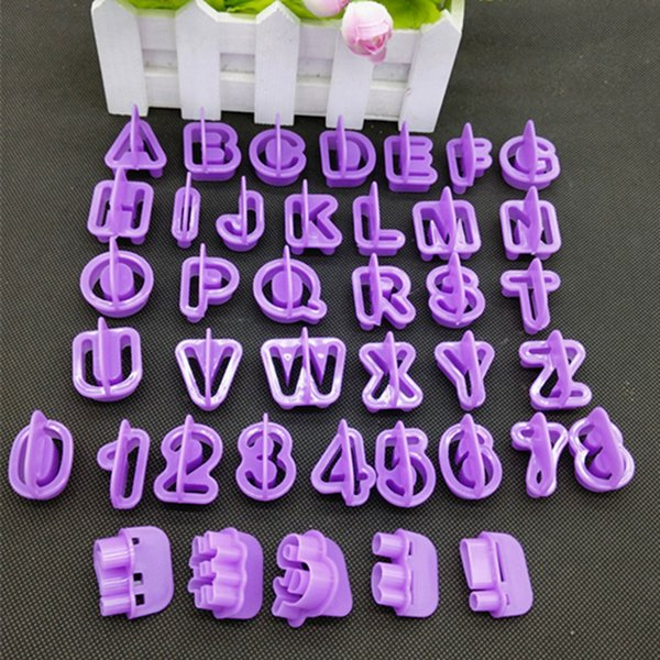 aking cookie cutters EZLIFE Cheap 40pcs/Set Alphabet Letter Number Cake Cutter Decorative Tools Fondant Cake Biscuit Baking Mould Cookie ...