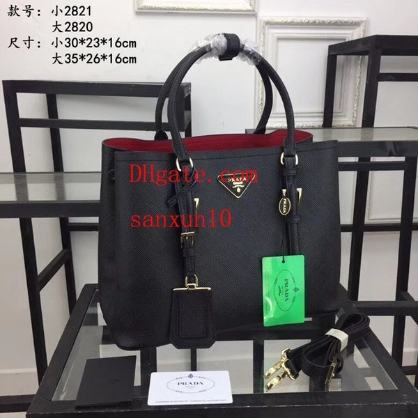 Famous Classic elegant Pattern Handbag Messenger Plaid doodle letters Print Leather handbag Tote Purse Shoulder Bags Crossbody A-X19