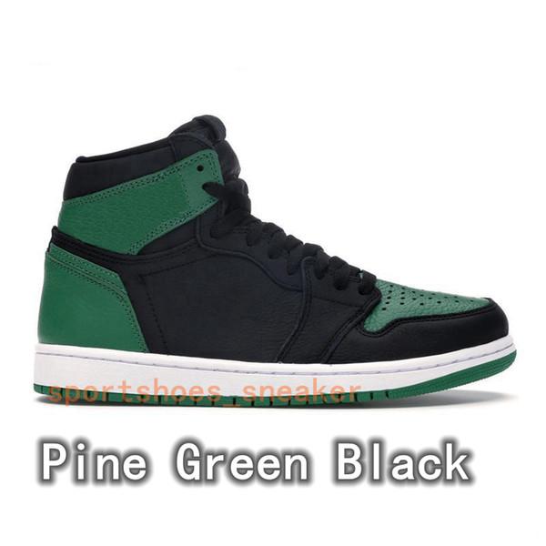 Çam Yeşil Siyah
