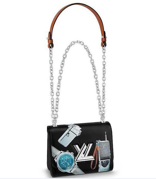 LVLV Twist Handbag luxury designer brand women wallets backpack Valentine Epi Leather Bags All Handbags TWIST PM M52507 Vert Acide Original
