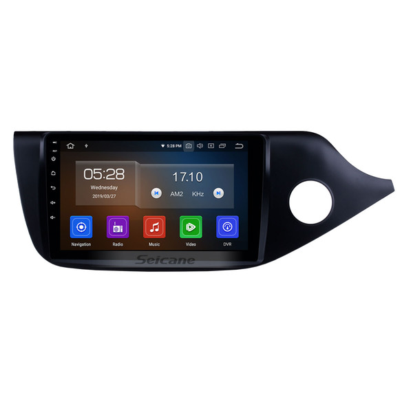 9 inch Touchscreen Android 9.0 Car Stereo GPS Navigation for 2012 2013 2014 Kia ceed RHD with music Wifi support 1080P Video car dvd 4G TPMS