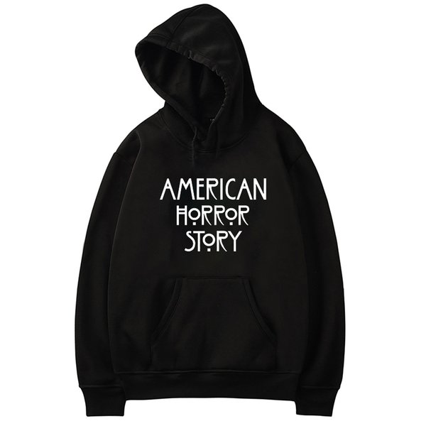 American Hoodies Women Men Casual Sweatshirt Hip Hop Tracksuit Autumn Winter Outwear Hooded Fans Clothes