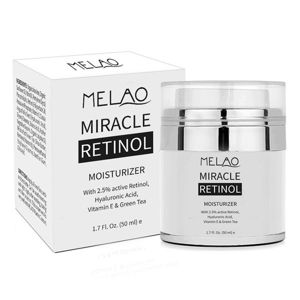 50g melao 2 5 retinol moi turizer cream hyaluronic acid a fine line day and night retinol cream