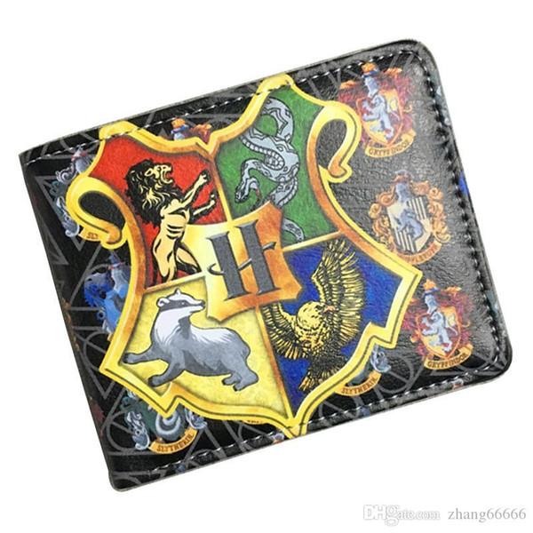 Harry Potter Around Gryffindor Harry Potter Slytherin Badges Wallet Wallet