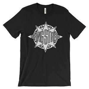Gang Starr T Shirt - hip hop clásico - DJ Premier GURU logo mass mass dwyWholesale