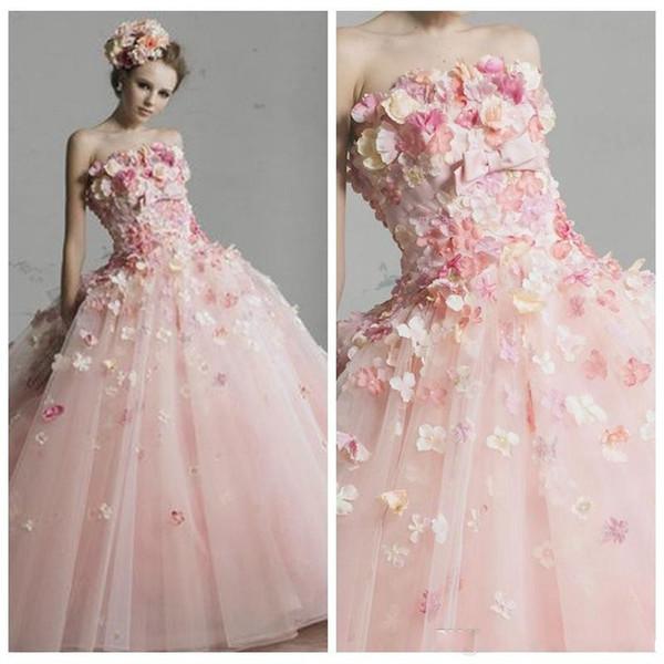 c27a331905cb2 Güzel Prenses Abiye Quinceanera Elbiseler 2019 Straplez Organze Maskeli  Abiye Tatlı 16 Kızlar robe de mariée