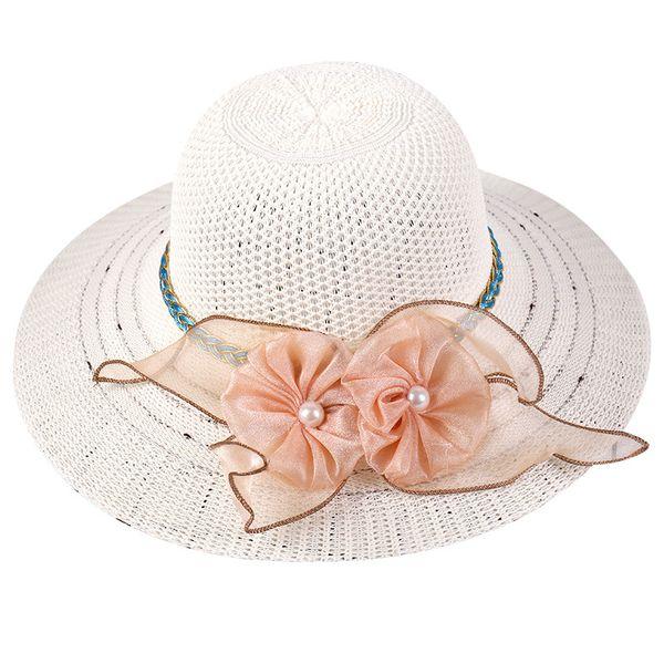 21 Color Sun Hat UV Protection Panama Cap Summer Travel Holiday Straw Hat Women Big Wide Brim Beach Cap Foldable Leisure Beach