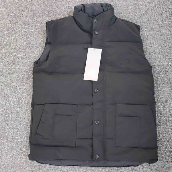 Mens Designer Jacke Weste Winter Daunenmantel Weste Outdoor Thick Warm Outdoor Daunen Marke Jacke Warm Sleeveless Zipper Jacke Großhandel