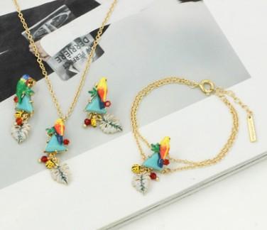 meraviglioso trasporto libero di alta qualità più colore cristallo diamante bide orecchini della collana della signora di nozze anello 70
