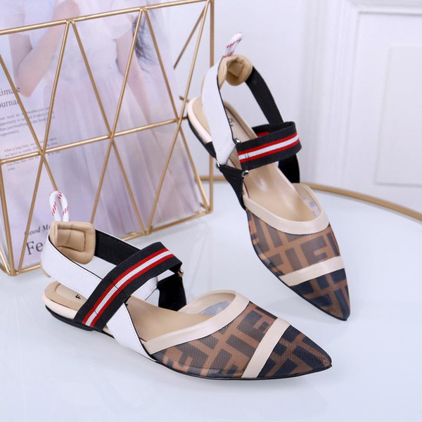 Kutu ile Yaz Lüks Bayanlar Tuval gladyatör stil flats ayakkabı siyah altın çiviler kadın nomad sandal Parti Seksi Bayanlar ayakkabı