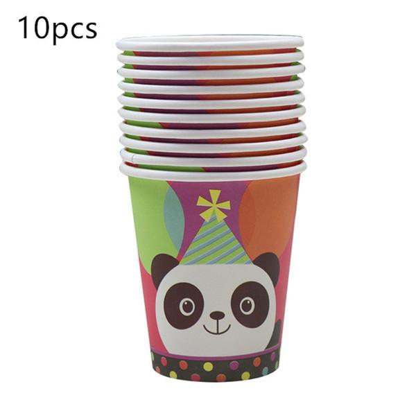 2019 Children Party Supplies Cartoon The panda Baby Theme Birthday Party Decor