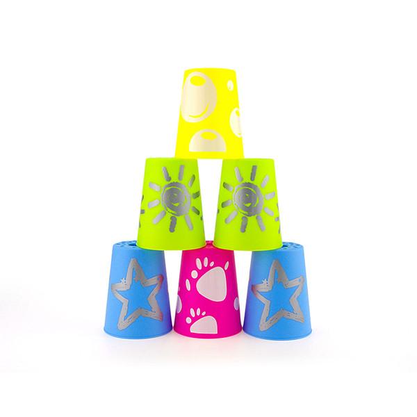 Детский сад Детский Кубок Специальные Летающие блюдца Set Quick-стек Детский образовательный Desktop подарок игрушки