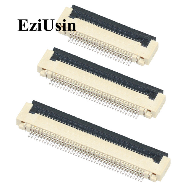 top popular Lights & Lighting FPC FFC connector 0.5mm 1.0mm Flat Cable PCB Connectors SMT ZIF 4 5 6 7 8 10 12 2021