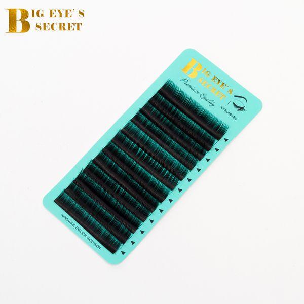 Big Eyes Secret Hersteller Direct Supplies Individuelle Wimpernschalen Curl J B C D L Wimpern Private Label Wimpernverlängerung von höchster Qualität