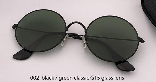 002 black/G15 glass lens