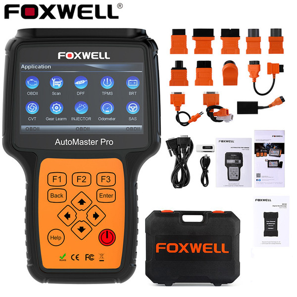 FOXWELL NT644 PRO Full System OBD2 Scanner ABS SRS AT DPF EPB Oil Reset Diagnostic Tool ODB2 OBD Professional Automotive