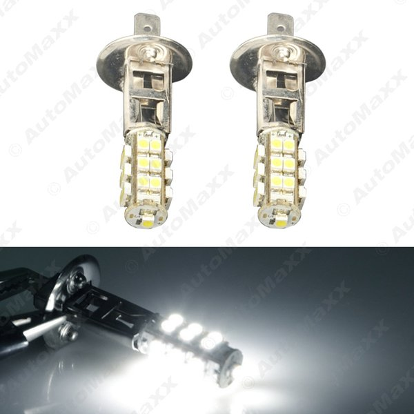 40pcs Pure White LED Bulb Car 3528 Chip 25SMD H1 LED nevoeiro luz de estacionamento 12V Farol do carro # 4052