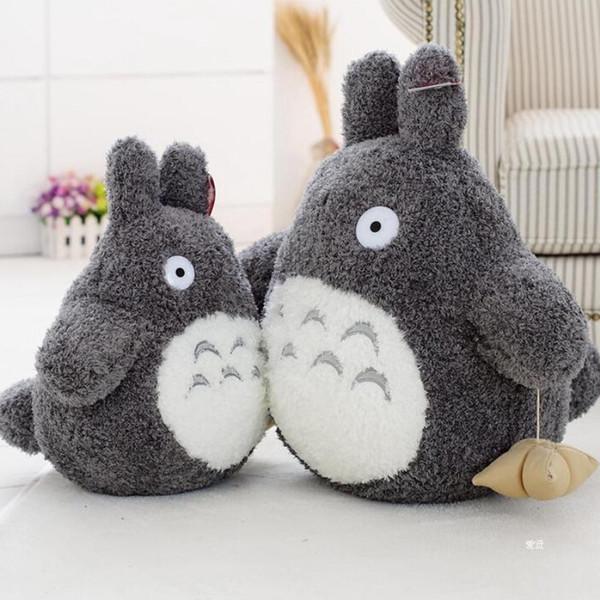 Cartoon Stuffed Animal 16cm Cartoon Lovely Style Plush Totoro Toys Stuffed Baby Doll Cute Movie Character Children Birthday Gift Toys