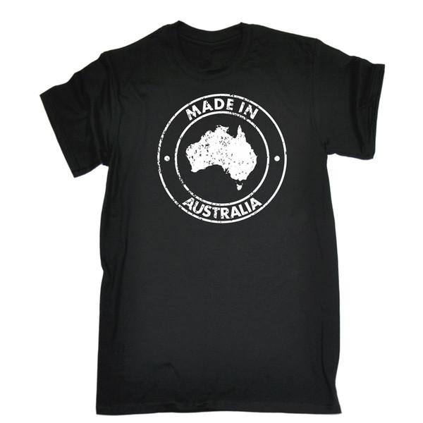 Made In Australia T-SHIRT Aussie Country Nazionalità Australian Gift Tee Maglietta personalizzata Jersey