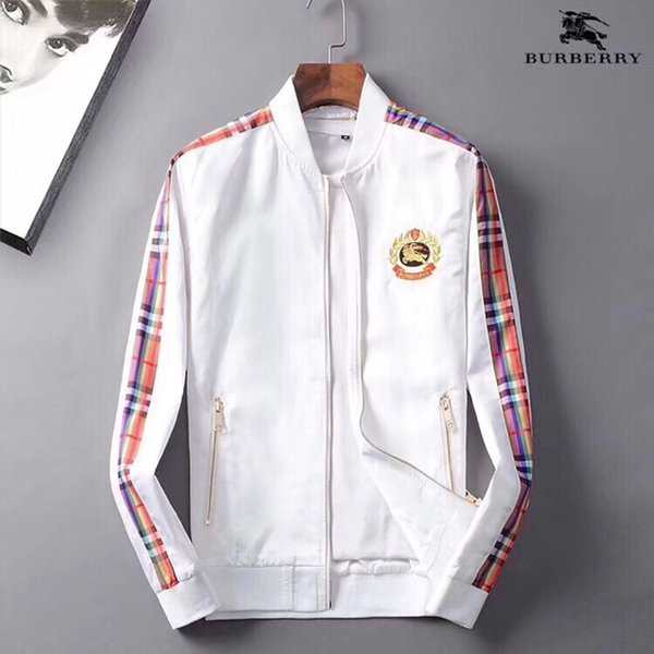 Fashion Jacket Casual Windbreaker Long Sleeve Cotton Blend Size M-3XL One Coler Mens Jackets Zipper Pocket Animal Flower Letter Pattern-17