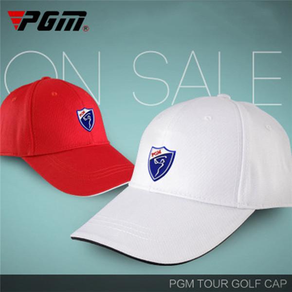 PGM Golf Hat Golf Caps Cotton Sunscreen Hat Comfortable Breathable Hats Solid Color Sport Peaked Cap 6 Colors