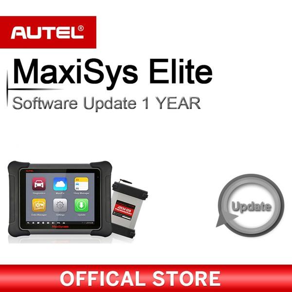 Logiciels pour scanner Elite MaxiSys Autel de diagnostic complet OBDII Fonction 1 an de service de mise à jour