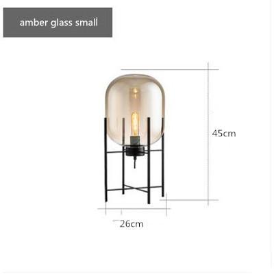 amber glass H45CM