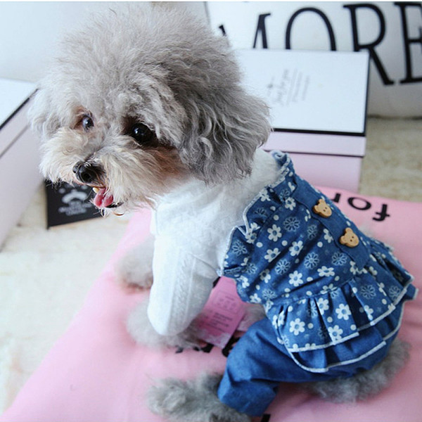 Summer Pet clothe Puppy Small Dog Cat Clothes for cheap Tutu Dress Princess Skirt Apparel Costume cute dog clothes xl dresses for dog