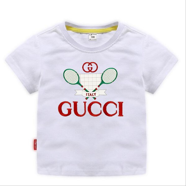 best selling TRGU New Designer Brand 2-9 Years Old Baby Boys Girls T-shirts Summer Shirt Tops Children Tees Kids shirts Clothing A01