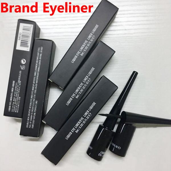 top popular Brand Eyeliner liquid Eye liner Eye Liner liquide Long-lasting 8ML waterproof EyeLiner Pencil high-quality makeup DHL free shipping 2021