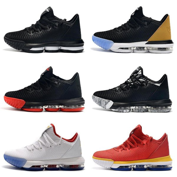 16s equality Lebrons XVI 16 Low EP basketball shoes for men sneakers Champion watch the throne oreo new 16 equality szie 40-46