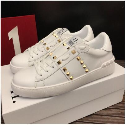 04ac966dec6e luxury brand hot sale BEST QUALITY! colors genuine leather unisex sneakers  shoes luxury designer v