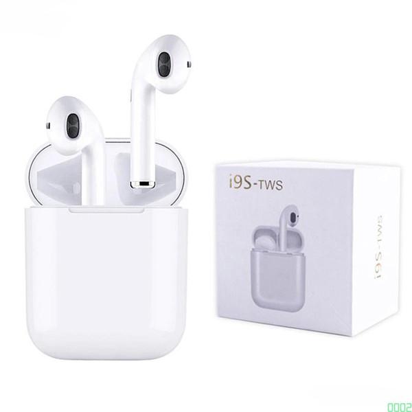 En çok satan I9S Tws 5.0 Kulaklık Kulaklık Stereo IOS Android Telefon için Kablosuz Bluetooth Kulaklık TWS Kulakiçi 0002
