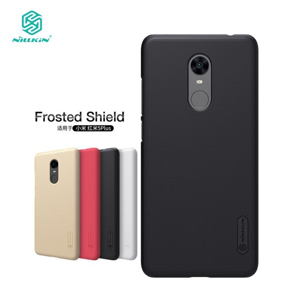 wholesale Redmi 5 Plus Case Nillkin Frosted Shield Hard Back Cover Case for Xiaomi Redmi 5 Plus 5.99 inch Gift Phone Holder