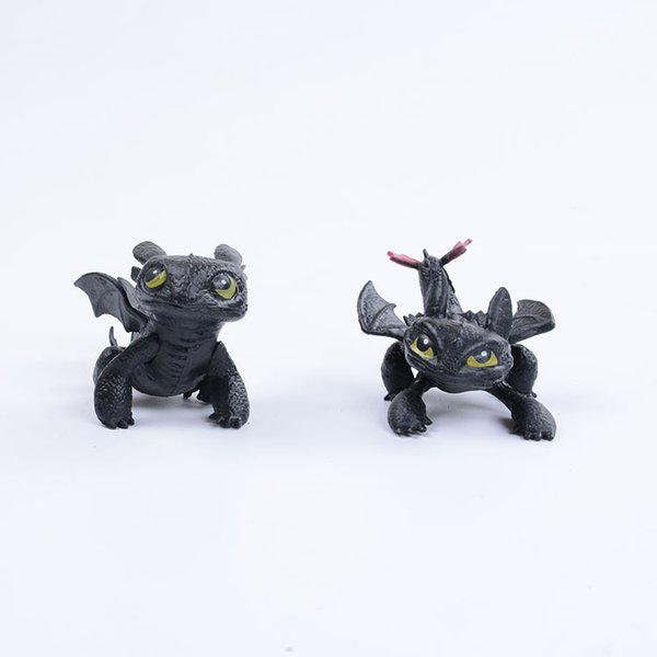 1pc How To Train Your Dragon 2 Toys Action Figures Night Fury Toothless PVC Dragon Children Brinquedos Kids Toys AIJILE