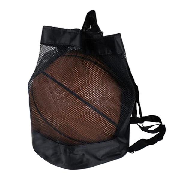 Baloncesto Fútbol Voleibol Cordón Sling Ball Natación Fitness Bolsa esencial Bolsa de almacenamiento en casa Bolsa esencial # 29518