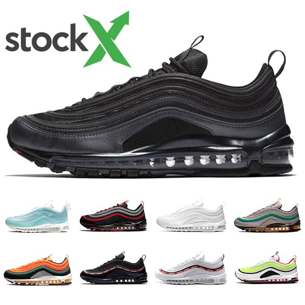 Compre Beach Blanco Air Max Hombre Silver 97s 97 Hombres 2019 Nike Shoes Laser Para Bullet Iridescent Triple Zapatillas 97 UNDEFEATED Fuchsia South JFclK1Tu3