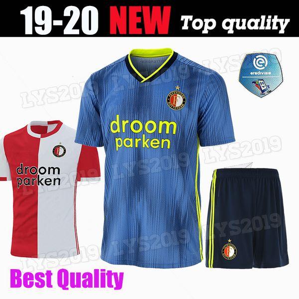 Adult kit 19 20 Feyenoord soccer jerseys home away 2019 2020 LARSSON V.PERSIE VILHENA child youth men football jersey shirts