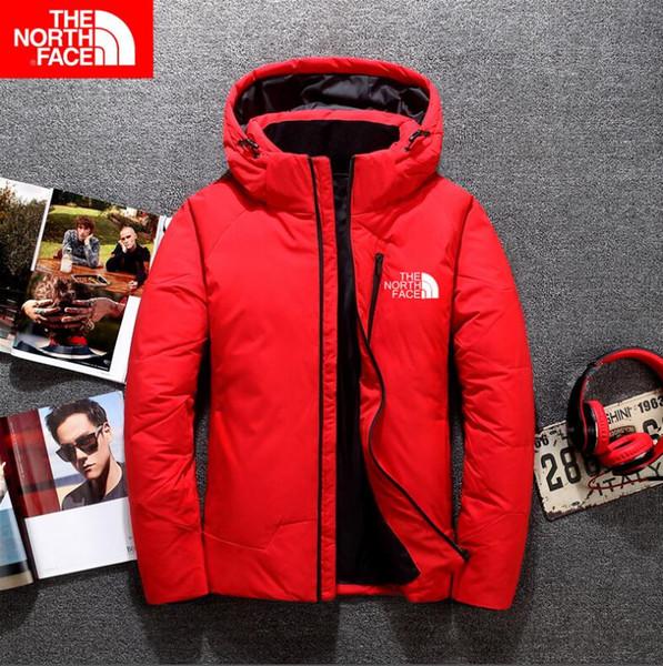 2020 Kuzey Kalite Yeni Kış Erkekler Down Ceket Ceket Boş Marka Aşağı Ceket Sıcak Kayak Erkekler Coat Ücretsiz nakliye 9086